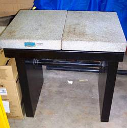 Used Granite Top Weigh Table